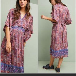 Anthropologie TINY kimono boho dress S